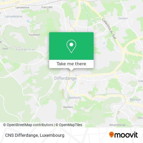 CNS Differdange map