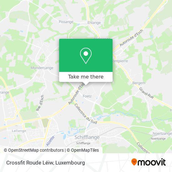 Crossfit Roude Léiw map
