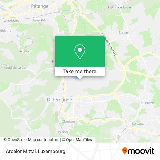 Arcelor Mittal map