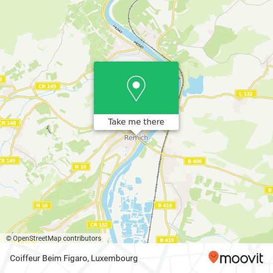 Coiffeur Beim Figaro map