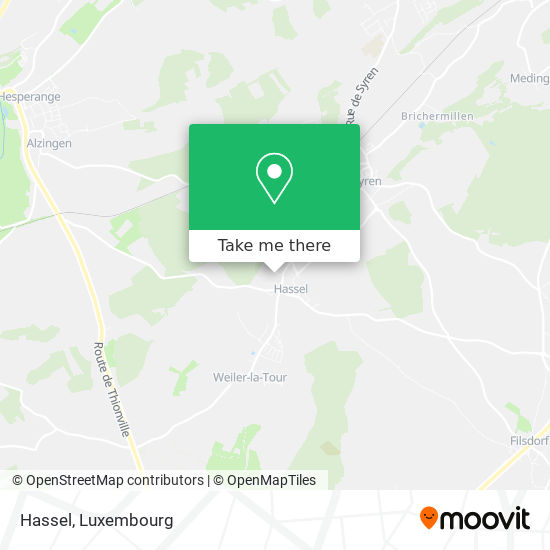 Hassel map