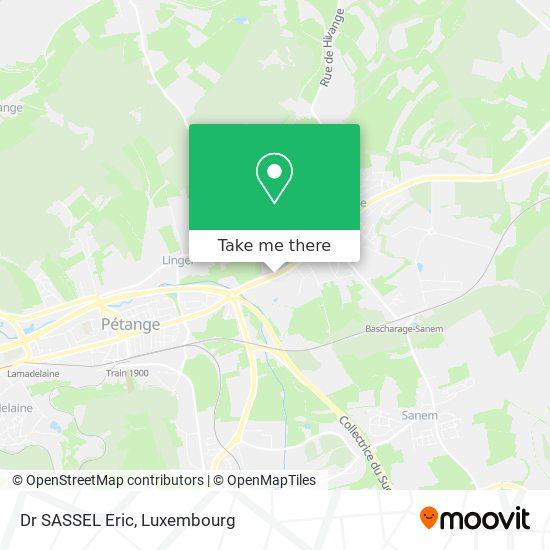 Dr SASSEL Eric map