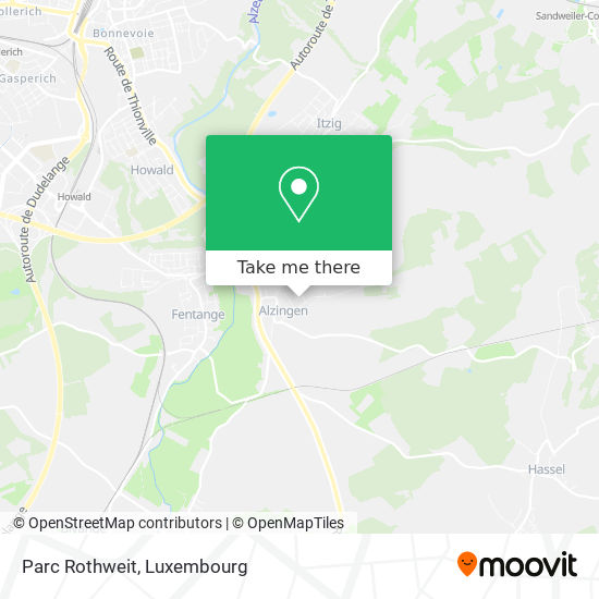 Parc Rothweit map
