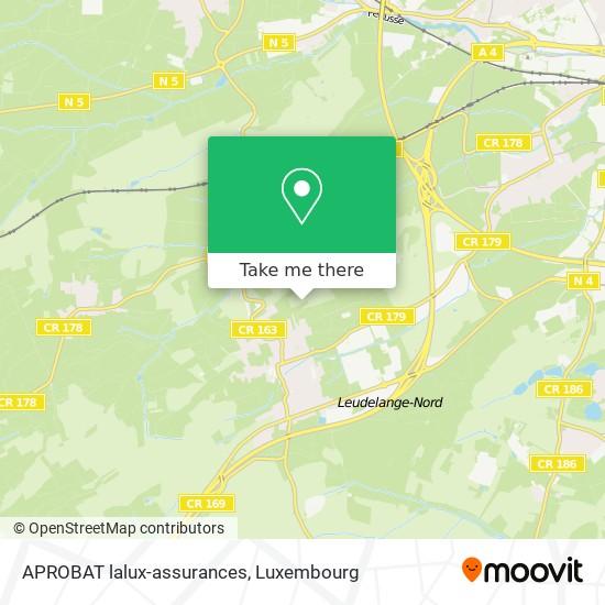 APROBAT lalux-assurances map