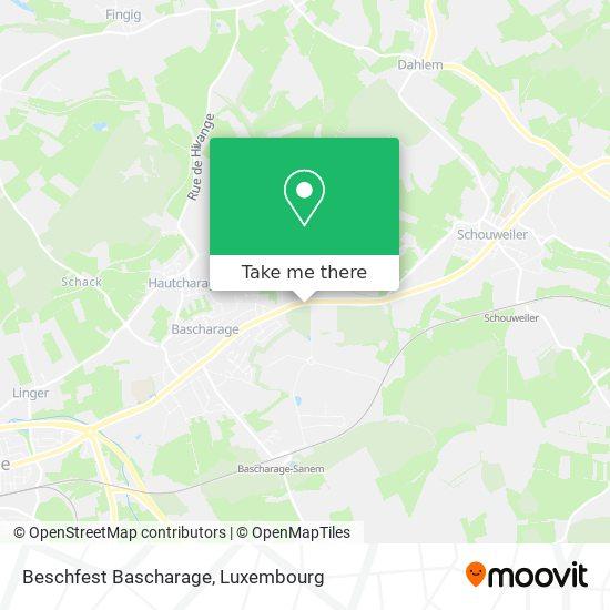 Beschfest Bascharage map