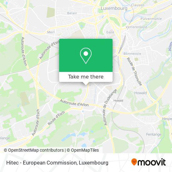 Hitec - European Commission map