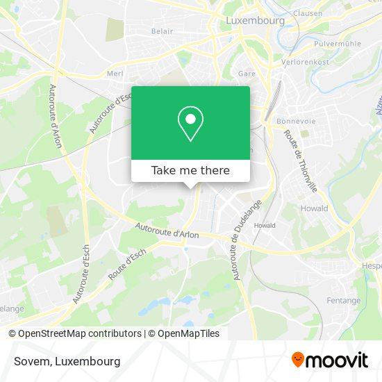 Sovem map
