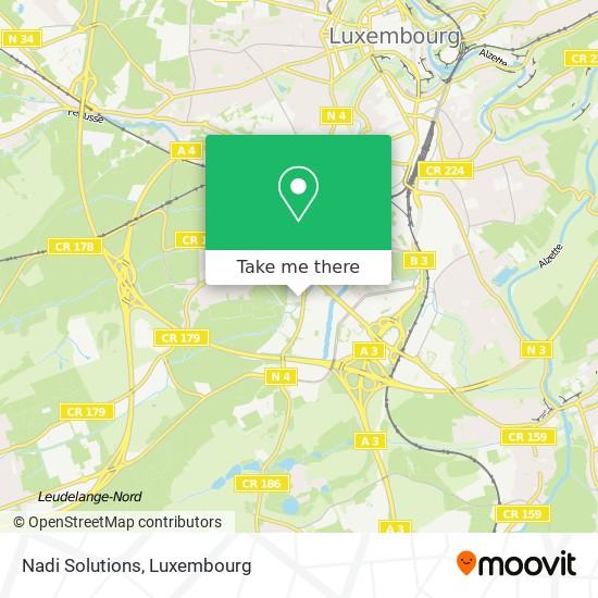 Nadi Solutions map