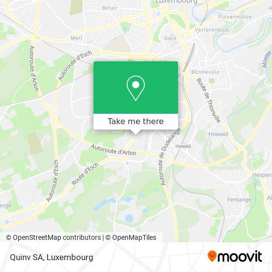 Quinv SA map