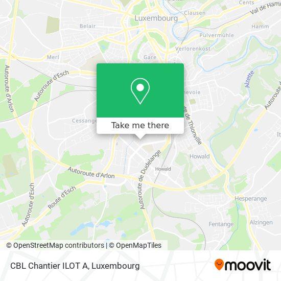 CBL Chantier ILOT A map