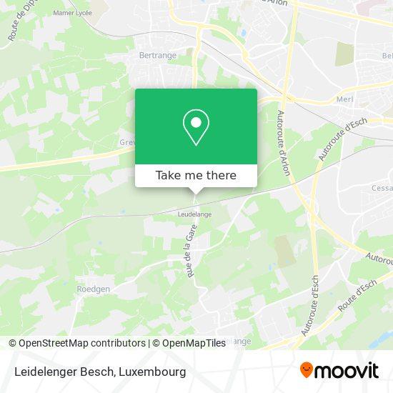 Leidelenger Besch map