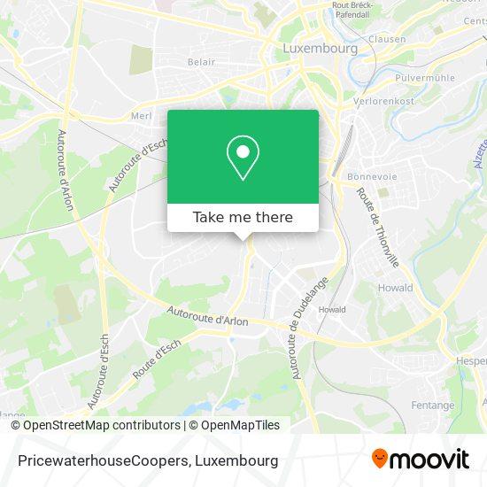 PricewaterhouseCoopers map