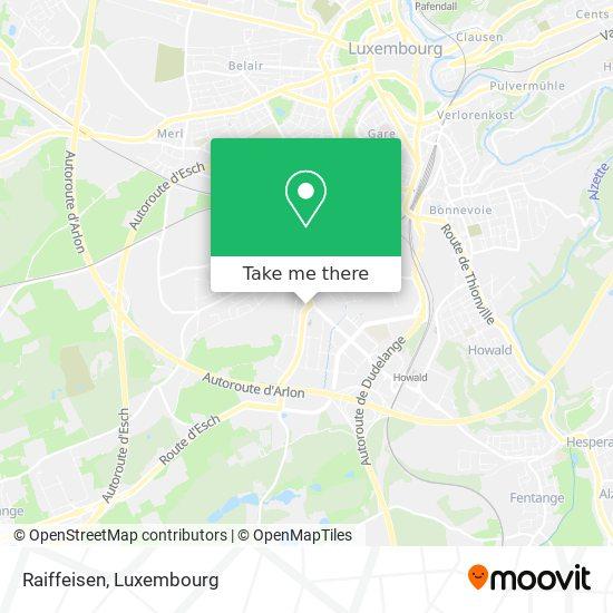 Raiffeisen map