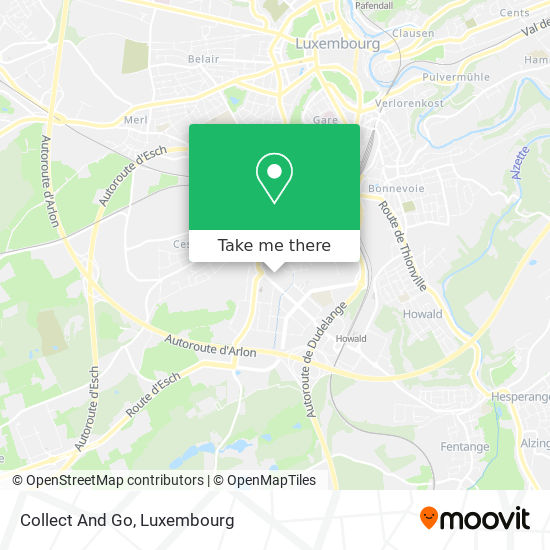 Collect And Go map