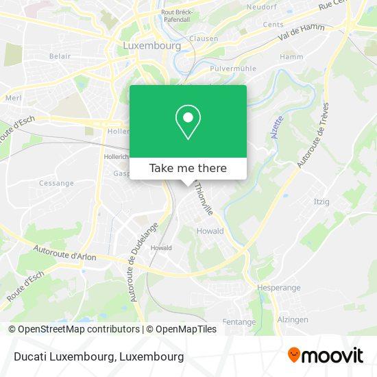 Ducati Luxembourg map
