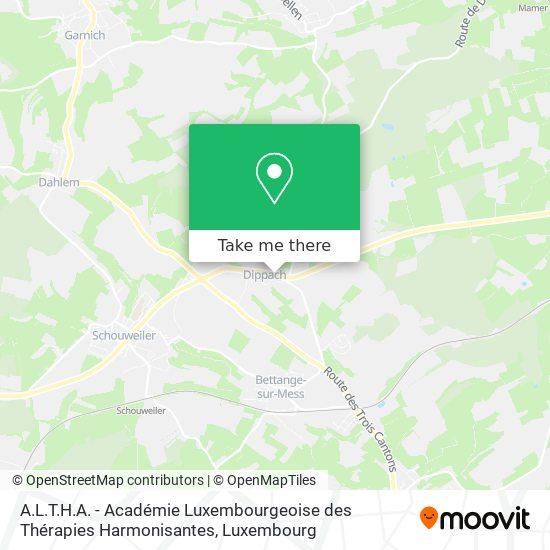 A.L.T.H.A. - Académie Luxembourgeoise des Thérapies Harmonisantes map