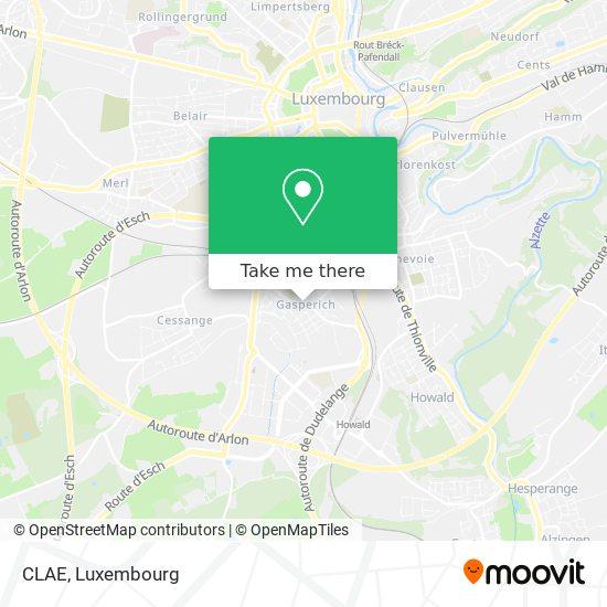 CLAE map