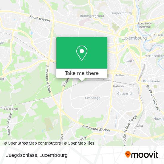 Juegdschlass map