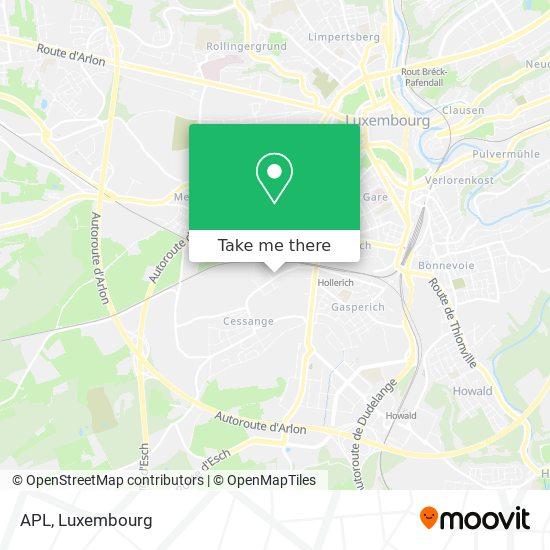 APL mapa