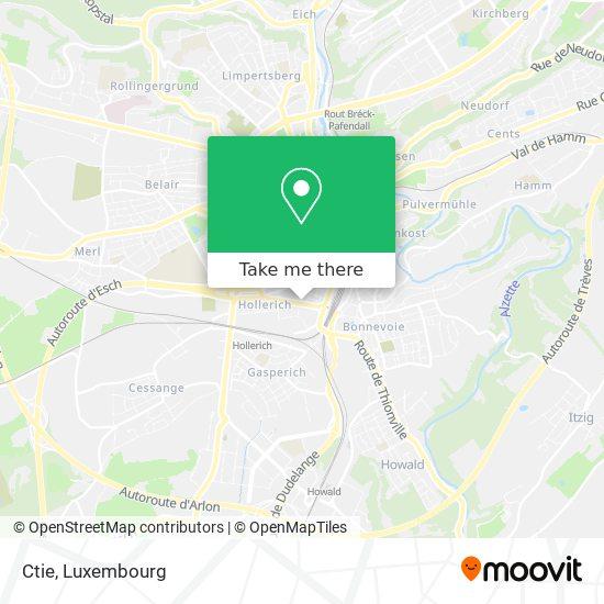 Ctie map