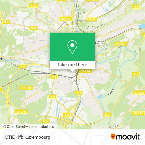 CTIE - ifb map