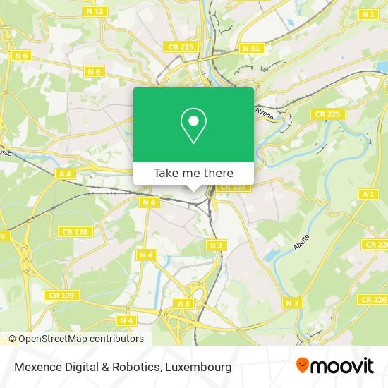 Mexence Digital & Robotics map