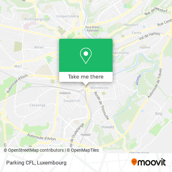 Parking CFL map