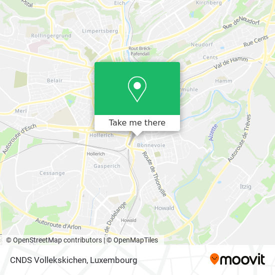 CNDS Vollekskichen map