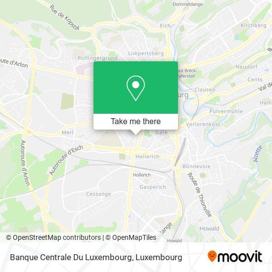 Banque Centrale Du Luxembourg Karte