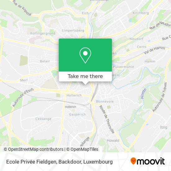 Ecole Privée Fieldgen, Backdoor map
