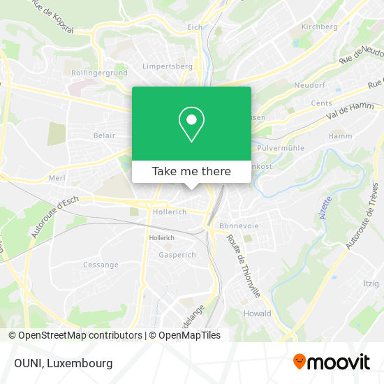 OUNI map