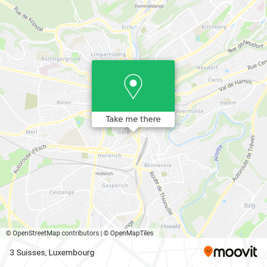 3 Suisses map