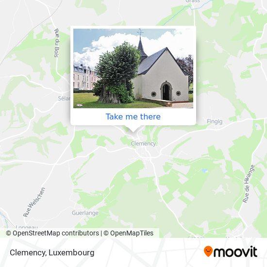 Clemency mapa