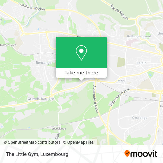 The Little Gym Karte