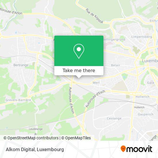 Alkom Digital mapa