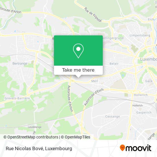 Rue Nicolas Bové map