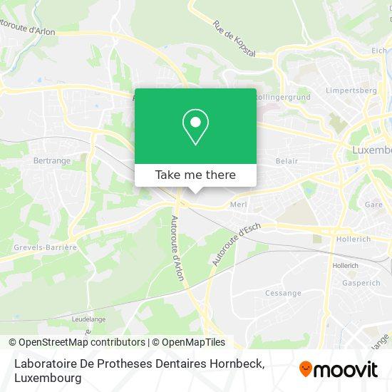 Laboratoire De Protheses Dentaires Hornbeck map