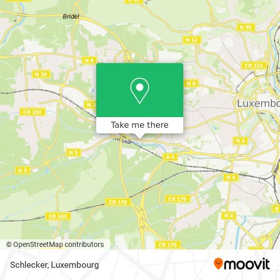 Schlecker map