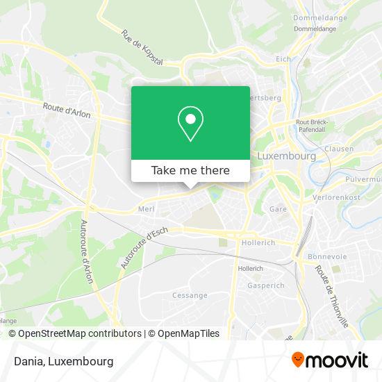 Dania map