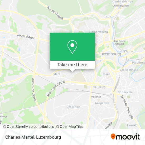 Charles Martel map