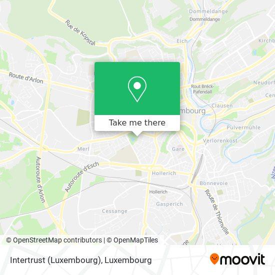 Intertrust (Luxembourg) map