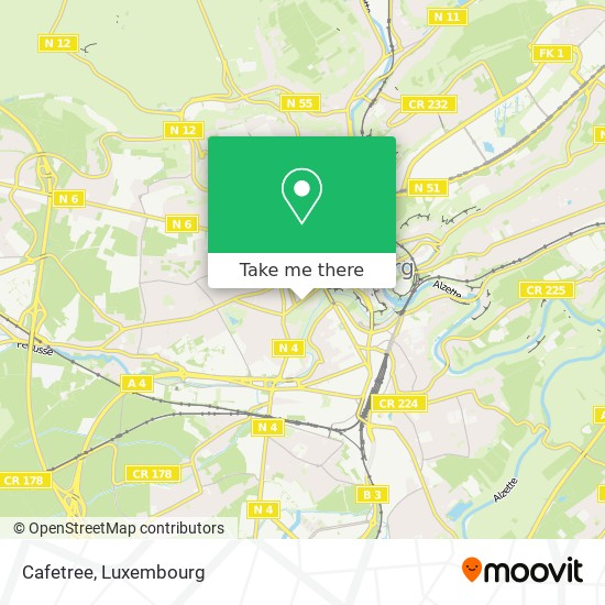 Cafetree map