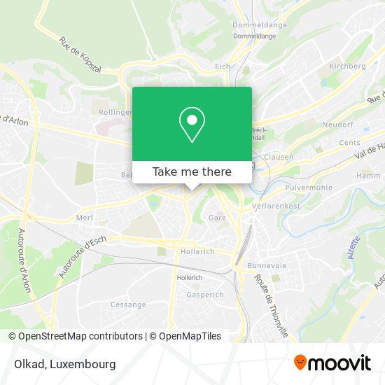 Olkad map