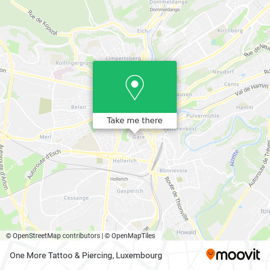 One More Tattoo & Piercing map