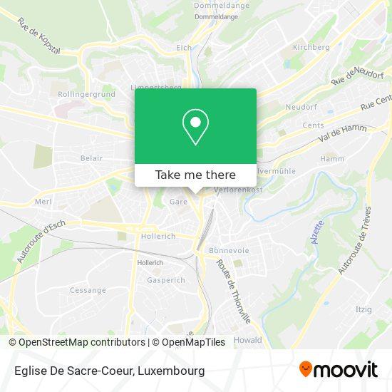 Eglise De Sacre-Coeur map