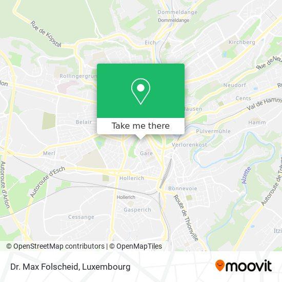 Dr. Max Folscheid map