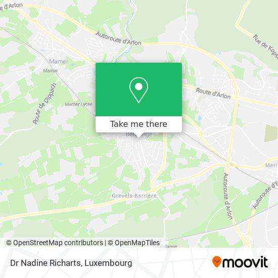 Dr Nadine Richarts map
