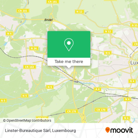 Linster-Bureautique Sàrl Karte