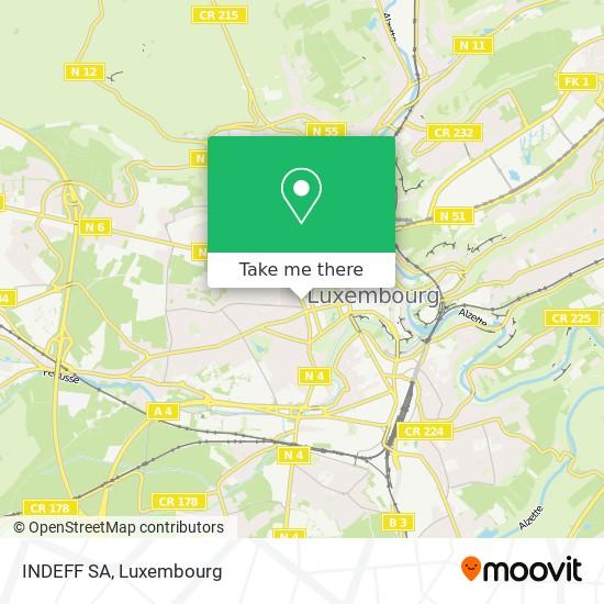 INDEFF SA map