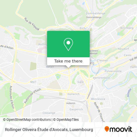Rollinger Oliveira Étude d'Avocats map